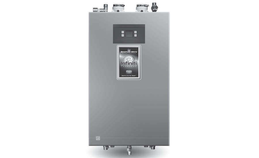 Condensing water heater