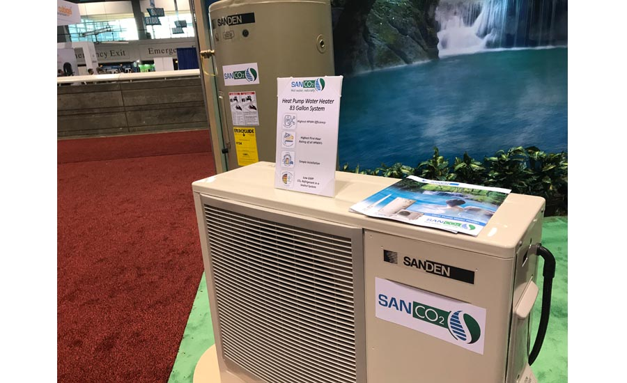 Sanden SANCO2 heat-pump water heater