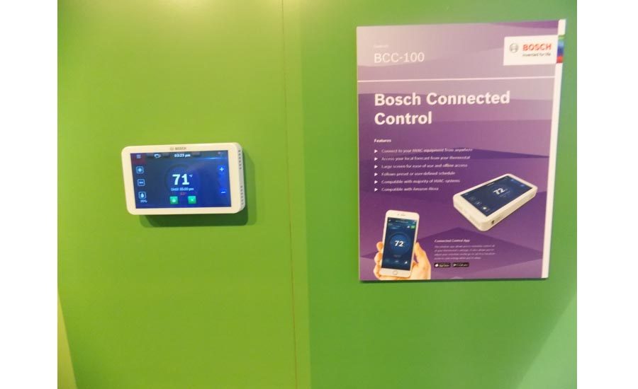 Bosch's Connected Controls thermostat