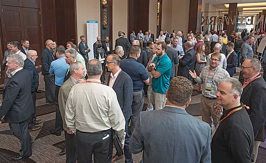 plenty of networking occurred during NETWORK2017 in Nashville