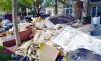 The piles of garbage after Hurricane Harvey are high, and vast