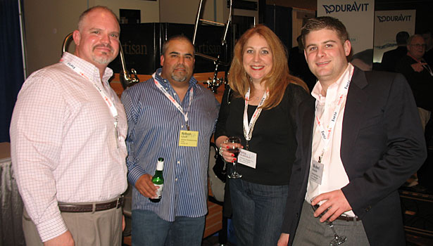 Richard Zinnie (Artisan Manufacturing Corp.), Robert Lynch (Artisan Manufacturing Corp.), Amy Zuckerman (Ardnete Supply) and Michael Ardnete (Ardnete Supply)