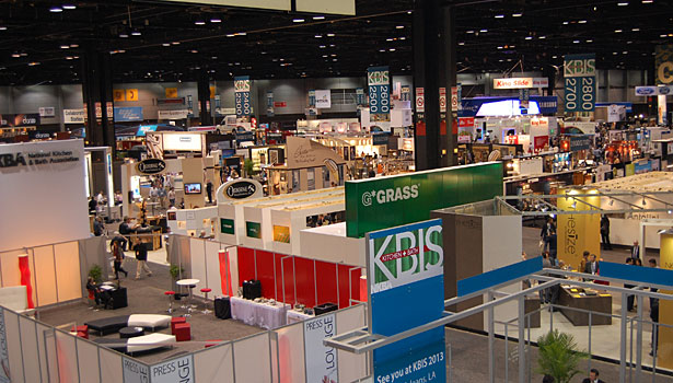 Overview of the show floor at Chicago's McCormick Place.