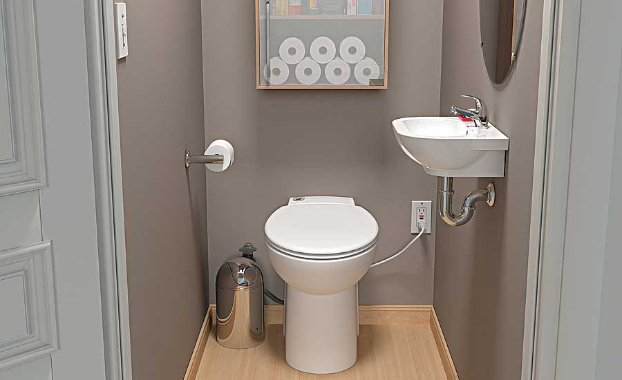 Saniflo compact macerating toilet