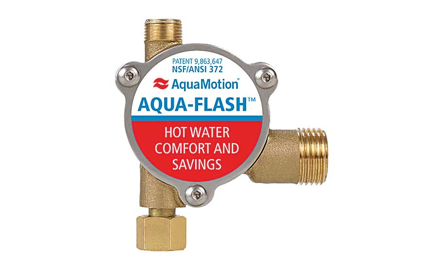 Aqua-Motion hot-water recirc system
