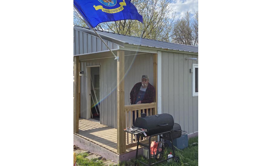 Watts Tiny Home for Veteran