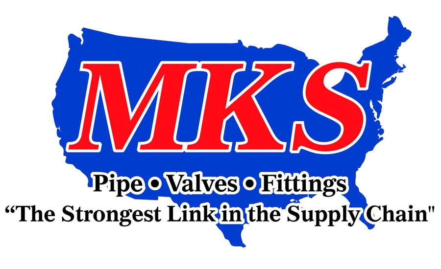 MKS Pipe and Valve Logo