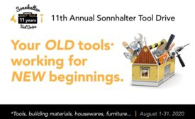 Sonnhalter Tool Drive 2020