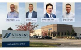 Daikin Aquires Stevens Equipment image with Management