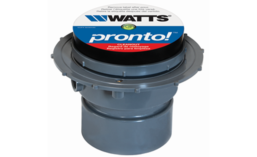 Watts Pronto! adjustable cleanouts