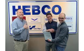 Milwaukee Valve awards HEBCO