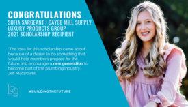 LPG Scholarship winner