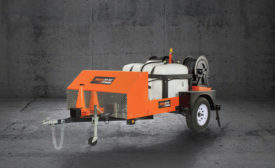 General Pipe Cleaners Trailer Jet