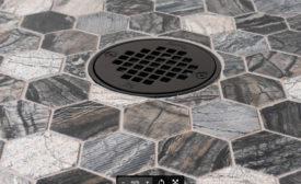 Oatey Co Matte Black drains