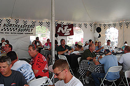 Northeastern Supply Hosts Customers At Nascar Race 2013