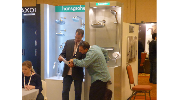 Hansgrohe is part of a Forte buying group that saw channel volume increase.