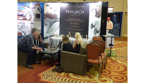 Phylrich was one of 61 preferred vendors in attendance.