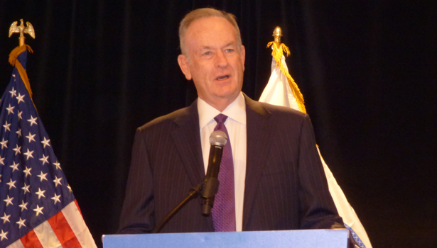 Bill O'Reilly was the keynote speaker at the Weldbend IPD breakfast.