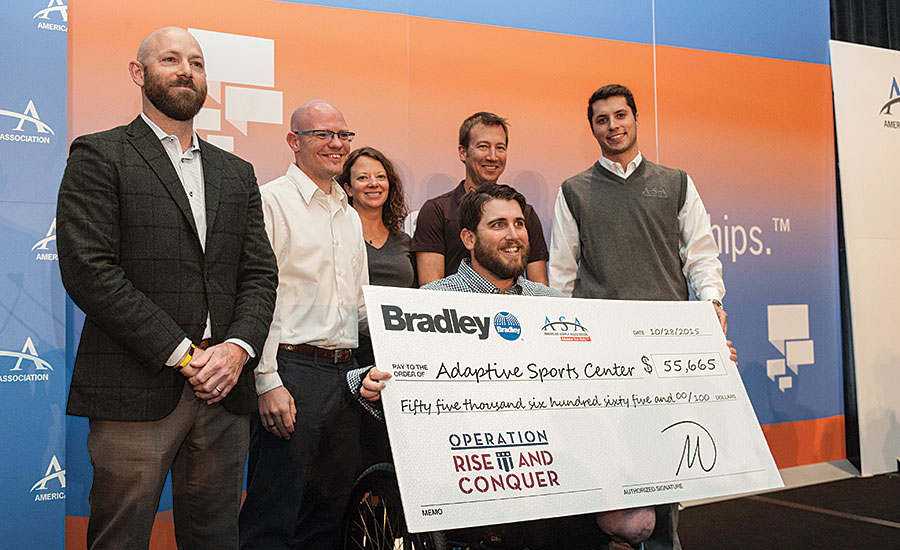 Bradley Corp. and Adaptive Sports Center