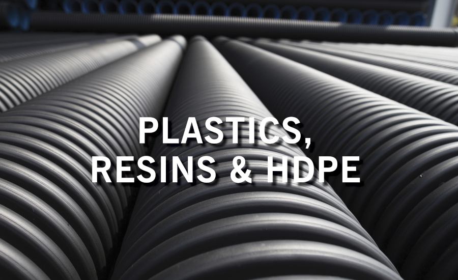 Plastics, Resins and HDPE