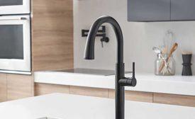 American Standard pulldown dual-spray faucet