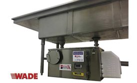 Wade grease removal system