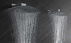 Large-format showerheads