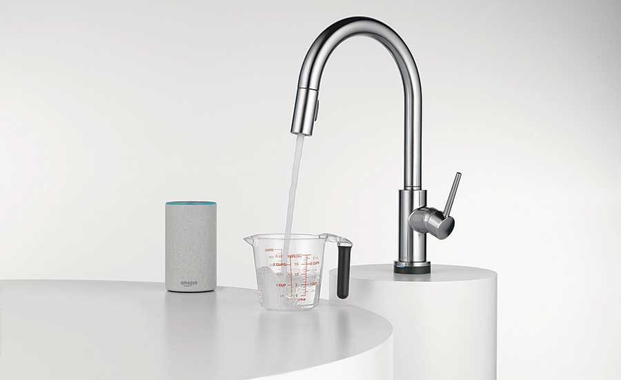 voice activation customication lead the way for smart kitchen and bath products 2020 04 15 supply house times