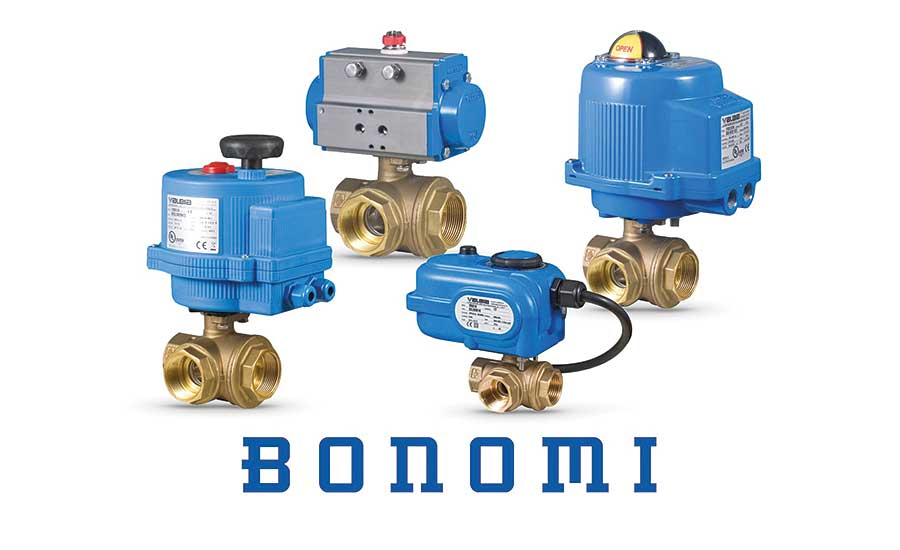 Bonomi North America ball valve packages