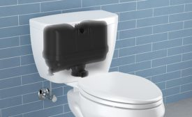 Sloan pressure-assisted toilet