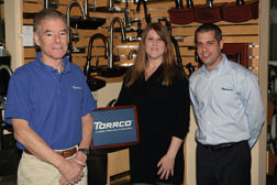 TORRCO CEO and President Joel S. Becker, Director of Marketing Michele Wright and Vice President of Sales and General Manager Chris Fasano spearheaded the company's name change