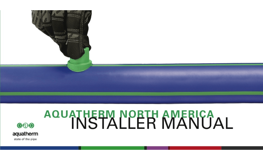 Aquatherm releases updated Installer Manual