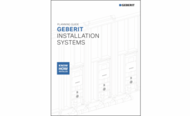 Geberit Revises Installation Systems Planning Guide