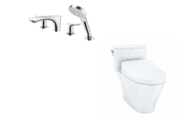 TOTO's GO Faucet Series and new toilet