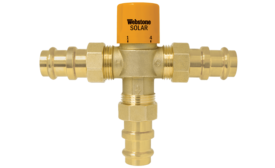 Webstone Thermostatic Mixing Valve Solar