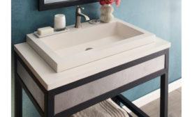 Native Trails' NativeStone Trough Bathroom Sink