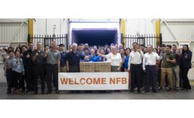 Navien Welcomes The First Shipment of NFB Fire Tube Boilers 18-0918