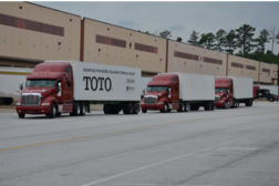 TOTO is being assisted in this process with its distribution partner WinWholesale in Oklahoma City.