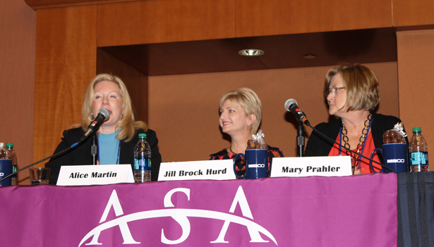 Breaking the Glass Ceiling panel discussion
