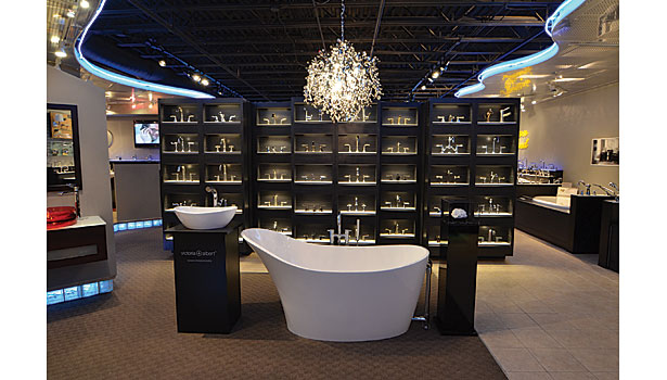 Carr Supply Benefits From The Remodeling Of Its Two Ohio Showrooms - Bathroom showrooms columbus ohio