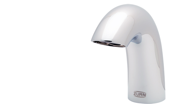 Zurnâ??s new Aqua-FIT sensor faucet system is sleek, durable and modular.