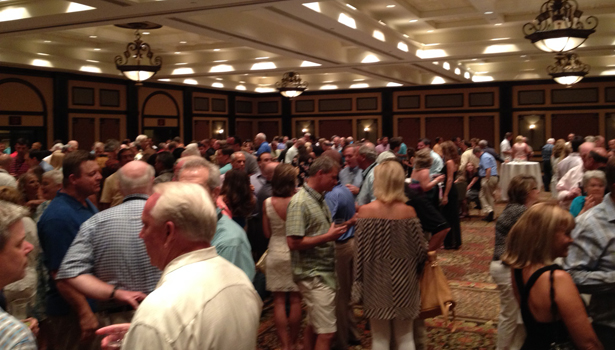 opening reception at the 86th annual SWA Convention