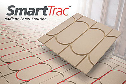 Watts Radiant SmartTrac radiant panel solution