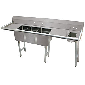 Advance Tabco 3-compartment sink