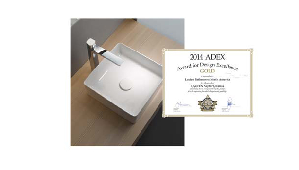 Kartell By Laufen Saphirkeramik.Laufen Bathroom Products Win Awards For Design Excellence