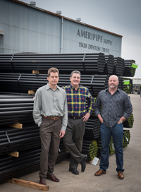 Ameripipe Supply appoints new management.