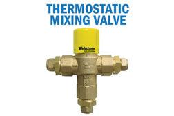 Webstone mixing valve