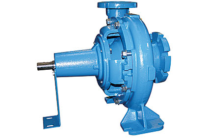 Crane pullout end suction pumps