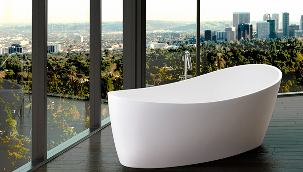 Clarke Architectural Dune freestanding tub