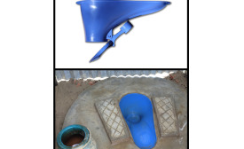 The SaTo hygienic toilet pan